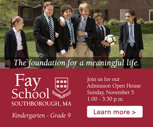 Fay School - Nov Open House