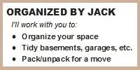 Organized by Jack