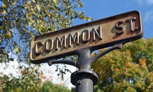 common-street