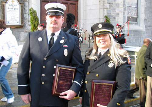 Post image for Southborough Fire Department members honored