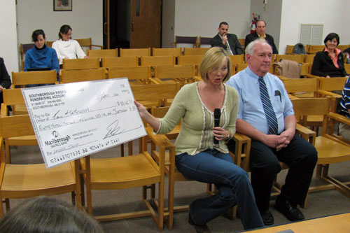 Post image for Fire Ball committee presents town with $83K check