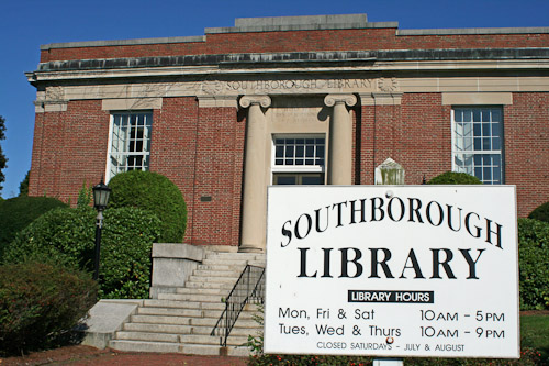 Post image for Saturday hours return at the Southborough Library