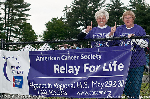 Post image for Volunteer to support this year's Relay for Life