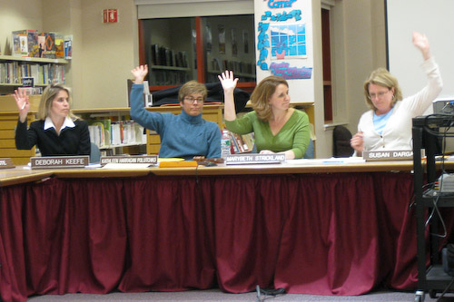 Post image for School Committee votes to approve budget