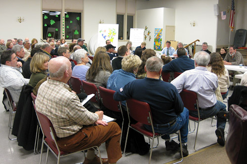 Post image for Residents have their say on village zoning