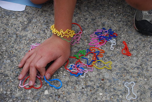 Post image for Silly Bandz a no-no at Finn