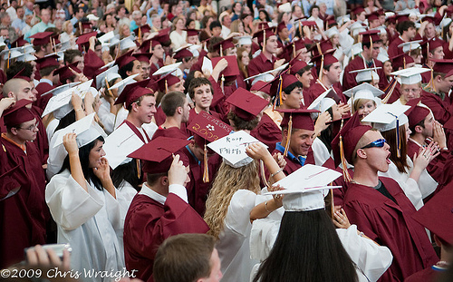 Post image for Algonquin graduation on Sunday, Assabet tonight