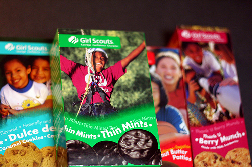 Post image for It's Girl Scout cookie time!