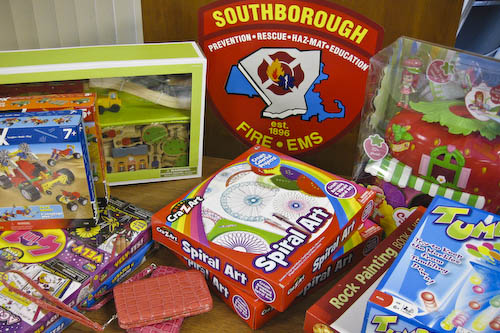 Post image for Southborough Fire Department collecting toys to help local families