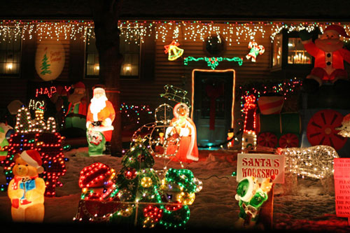 Post image for Where are the best Christmas lights in town?