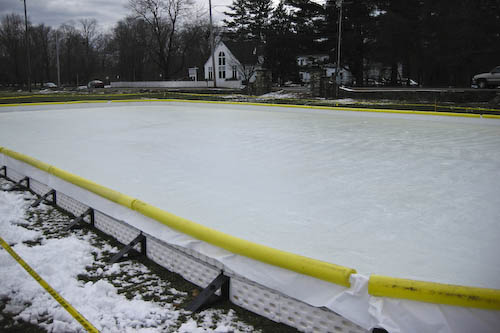 Post image for Community ice rink still not ready for skating