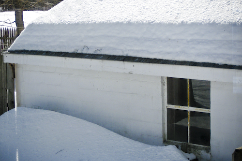 Post image for Snow caused structural damage to some buildings in Southborough