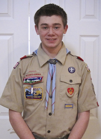 Post image for Southborough Eagle Scout candidate organizes food and letter drive for the troops