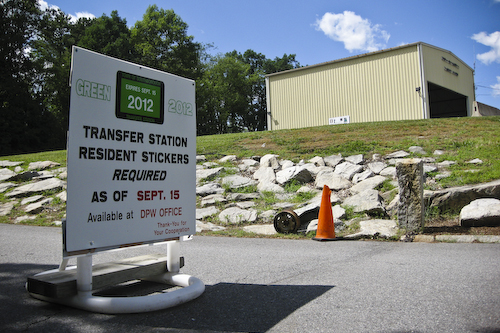 Post image for No increase in sticker fee, but changes for the Transfer Station could be on the way