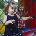 bouncy houses are alway a hit with the tots (by Susan Fitzgerald)