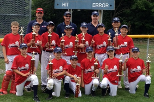 Post image for Youth baseball: Southboro 11's repeat as district champs