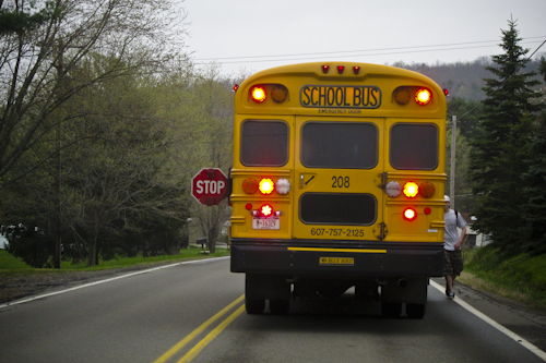 Post image for Southborough police remind residents to stop for school buses