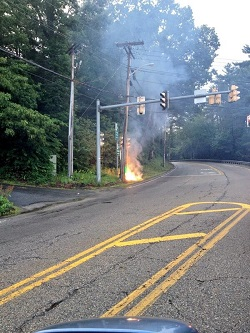 Post image for Power out in section of Southborough this morning (UPDATED – again)