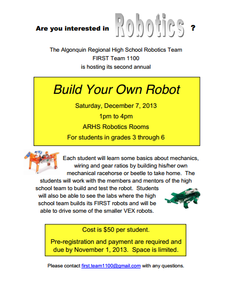 Two Robotics Programs For Kids Register By Friday