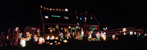 Post image for Favorite Places: Christmas lights in Southborough