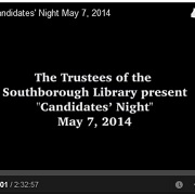Thumbnail image for Candidates' Night: Video, School Committee highlights, and SWL coverage of BOS candidates (Updated)