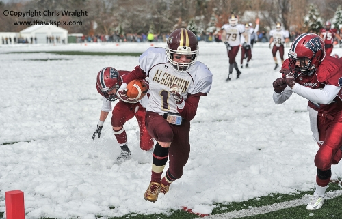 Post image for Sports and Photos: T-Hawks Triumphant on Turkey Day; winter sports splash off this week