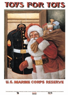 Post image for Toys for Tots collections in town
