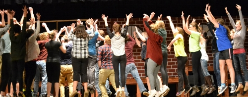 Post image for Algonquin students play The Pajama Game