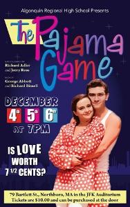 Pajama Game poster