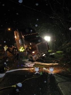 Post image for Major diesel spill on Main Street last night