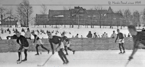 Post image for Pond skating and hockey social – January 4