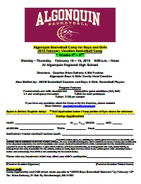ARHS basketball camp reg form