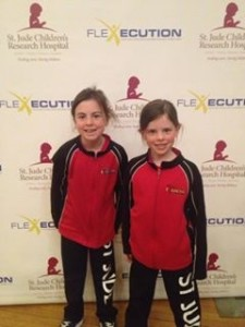 Finola and Maddy Wall, members of Fitness for a Cure, are inviting the community to a St. Jude's fundraiser (contributed photo)