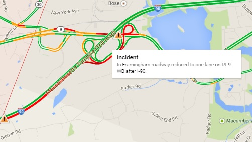 Post image for SWL: Route 9 mess caused by truck hitting wires