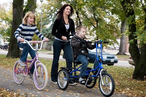 Post image for Special bikes for developmentally disabled youth – test ride and future programs (Updated)