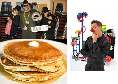 Post image for Weekend at a Glance: Spelling Bee, magic & juggling, and pancakes