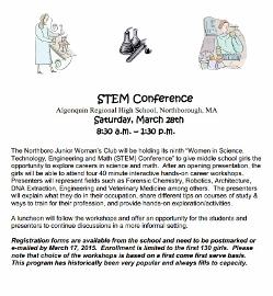 STEM conference flyer