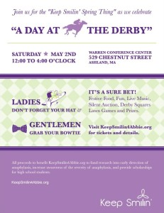 Day at the Derby flyer