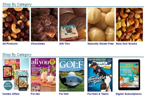 girl scouts fall sales candy nuts and magazines