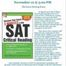 Thumbnail image for SAT/ACT test info night for parents – Nov 12