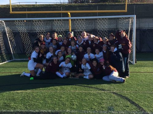 Post image for Girls Soccer and Cheerleading competing in states