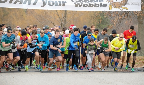 Post image for PHOTOS and results from Gobble Wobble 2015