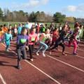 fun run 6-8 girls (Photo by Beth Melo)