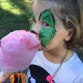 Face painting and yummy treats were just two of Heritage Day weekend's highlights. (Contributed photo)