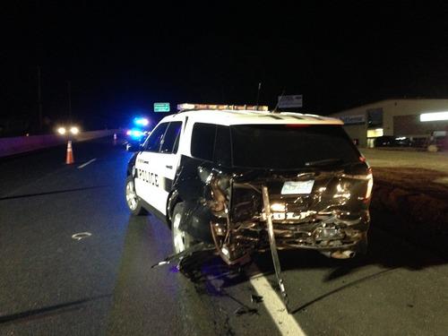 Post image for Drunk driver charged for September police crash