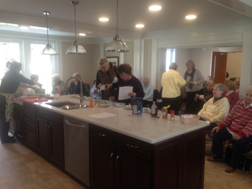 Post image for Senior Center offering Nutrition for Life cooking demonstrations