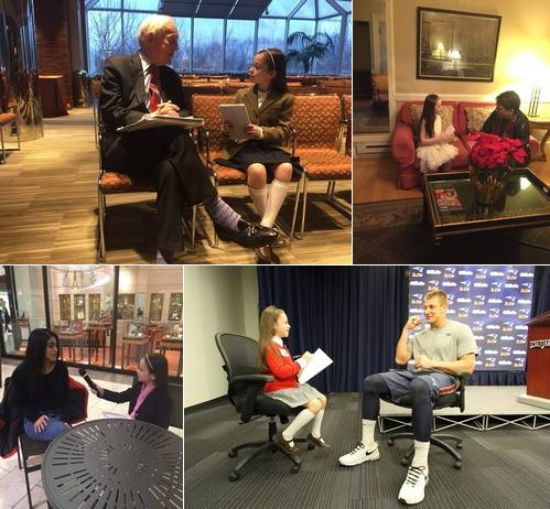 Post image for The Rose Reporter racks up another slew of celebrity interviews