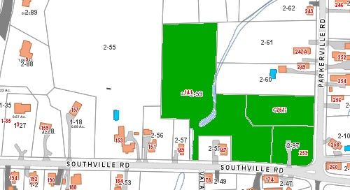 Post image for ZBA continues hearing on development at Southville and Parkerville; project highlights zoning loopholes (Updated)