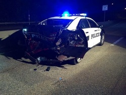 Post image for Samba license suspended for involvement in drunk driver crashing into SPD cruiser
