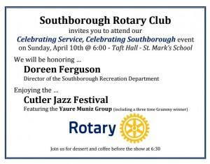 Celebrating Service flyer